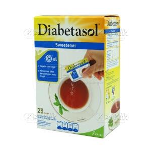 DIABETASOL NO CALORIE SWETENER 25GR