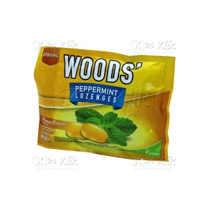 WOODS LOZ HONEY LEMON SACH