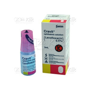 CRAVIT 0,5% EYE DROP 5ML