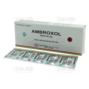 AMBROXOL 30MG NOVAPHARIN TAB