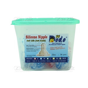 DODO SILICONE NIPPLE MIX 36S