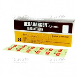 DEXAMETHASONE HARSEN 0,5MG STR TAB