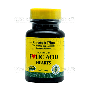 JUAL NATURE PLUS FOLIC ACID CAP 90S