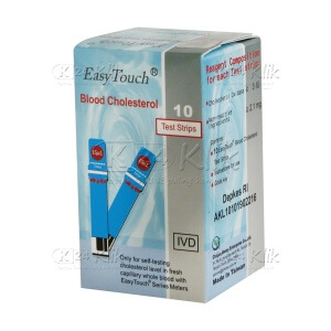 EASY TOUCH CHOLESTEROL STRIP 10'S