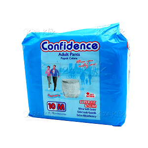 JUAL CONFIDENCE ADULT PANTS M10