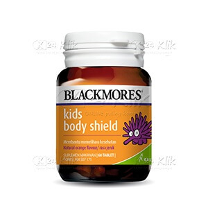 BLACKMORES KIDS BODY SHIELD CHEW TAB 60S BTL