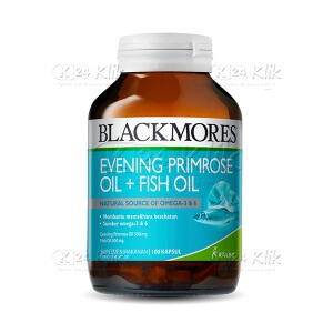 JUAL BLACKMORES EVENING PRIMROSE OIL 500 TAB 100S BTL