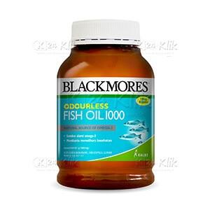 BLACKMORES ODOURLESS FISH OIL 1000 TAB 200S BTL