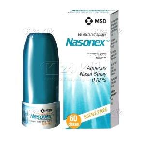 NASONEX 60DOSIS NASAL SPRAY 50MCG/DOSIS