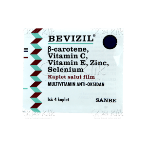BEVIZIL TAB STRIP 25S