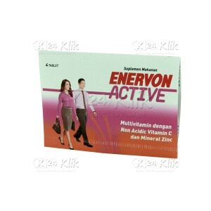ENERVON ACTIVE FC TAB 4S STRIP 25S