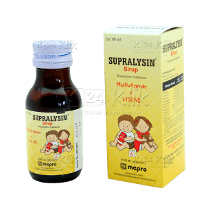 SUPRALYSIN SYR 60ML