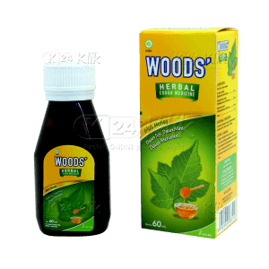 apotek online - WOODS HERBAL PLUS HONEY SYRUP 60ML