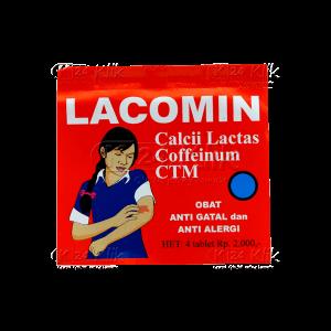 LACOMIN TAB STR 4'S