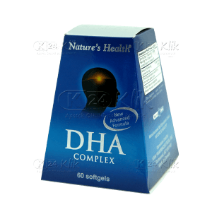 NATURE HEALTH DHA COMPLEX CAP 60S