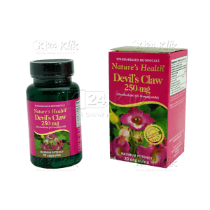 NATURE HEALTH DEVIL'S CLAW CAP 30'S