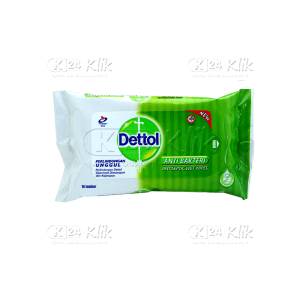 DETTOL ANTISEPTIC WET WIPES 10S