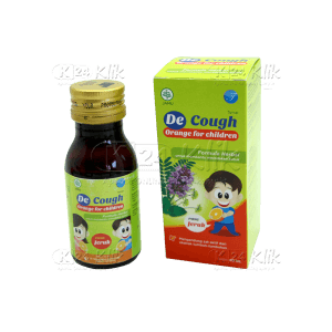 DECOUGH SYR ANAK RASA JERUK 60ML