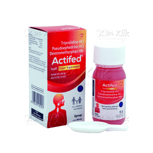 ACTIFED COUGH SYR MERAH 60ML