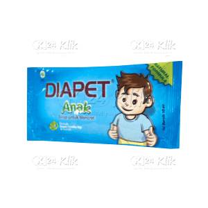 DIAPET ANAK 10ML SACH 6S