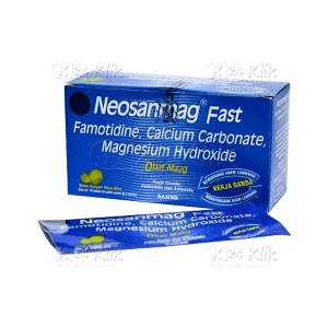 NEOSANMAG FAST TAB STR 2'S