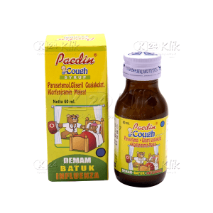 PACDIN BABY COUGH SYRUP 60ML