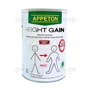 APPETON WEIGHT GAIN DWS 450GR COKLAT