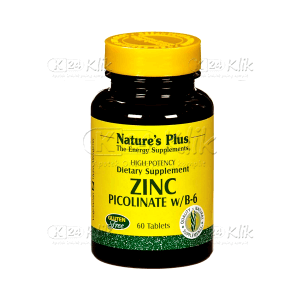 NATURE PLUS ZINC PICOLINATE TAB 60'S