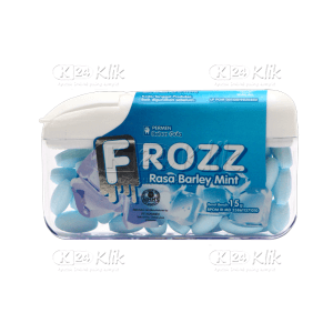 FROZZ BARLEY MINT (BIRU MUDA)