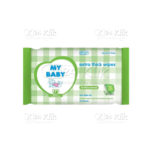 MY BABY ANTIBACTERIAL WIPES 10S