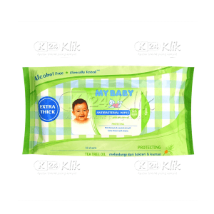 MY BABY ANTIBACTERIAL WIPES 50S