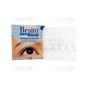 BRAITO 0,5 ML DOSE 10S