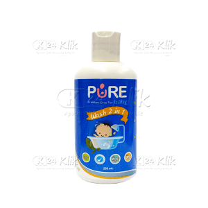JUAL PURE BABY WASH 2IN1 FRUITY 230ML