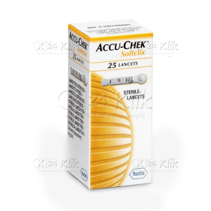 ACCU CHECK SOFTCLIX LANCET 25'S