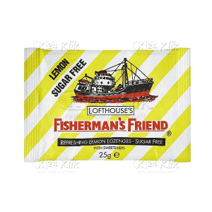 FISHERMAN'S SUGAR FREE LEMON