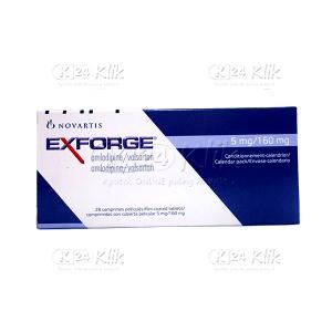 EXFORGE 5MG/160MG TAB