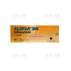 ALOFAR 300MG TAB 100S