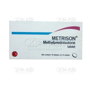 METRISON 4MG TAB 100S