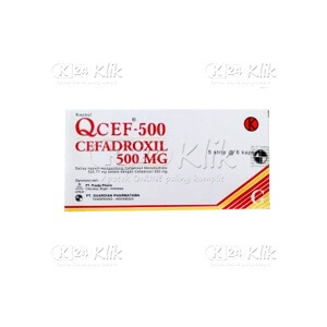 Q-CEF 500MG TAB 30S