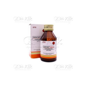 OPICEF F 250MG/5ML D SYR 60ML