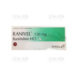 RANIVEL 150MG TAB 30S