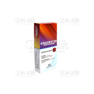 GRAZEO 20MG CAP 50S