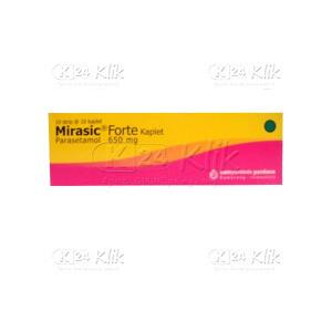 MIRASIC FORTE 650MG TAB 100S