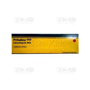 PRITALINC 500MG CAP 60S