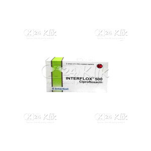 INTERFLOX 500MG CAP 12S