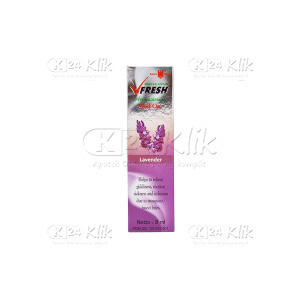 MINYAK ANGIN V FRESH LAVENDER ROLL ON 8ML
