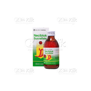 NECIBLOK SUSP 500 mg/5 ml 200ML