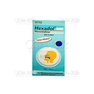 HEXADOL MINT GARGLE 100ML