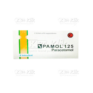PAMOL 125MG SUPP