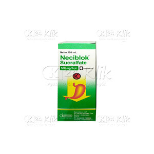NECIBLOK SUSP 500 mg/5ml 100ML